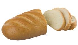 Pan rebanado pan largo fotos de archivo libres de regalías