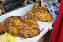 Pan recientemente cocido - caliente y quebradizo fotografía de archivo