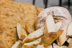 Pan recientemente italiano para abastecer en un evento corporativo Fotos de archivo libres de regalías