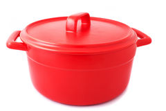 Pan of red color Royalty Free Stock Images