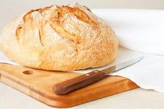 Pan redondo Foto de archivo libre de regalías