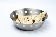 Pan regular de Naan Foto de archivo libre de regalías