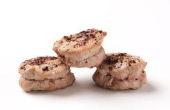 Free Pan Roasted Pork Tenderloin Medallions Stock Image - 18469461