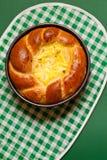 Pan rumano del dulce de Pascua foto de archivo libre de regalías