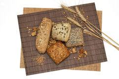 Pan sano de la fibra Imagen de archivo