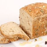 Pan sano del trigo integral Fotografía de archivo libre de regalías