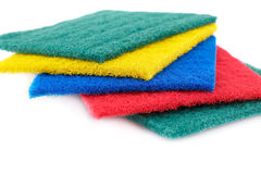 Pan scourers Stock Images