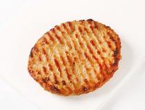 Pan seared burger Royalty Free Stock Photo