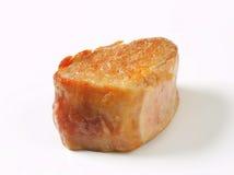 Pan-seared pork medallion Royalty Free Stock Image
