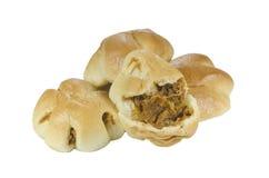 Pan secado picante de la seda del cerdo Imagenes de archivo