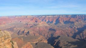 Pan Shot Right To Left Nationalparks Grand Canyon s auf dem Colorado Arizona stock video footage