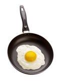 pan smażonej jajko Obrazy Royalty Free