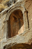 Pan Temple remains, Israel Stock Photo