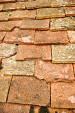 Pan tiles. A background shot of a classic pan tiled roof detail royalty free stock images