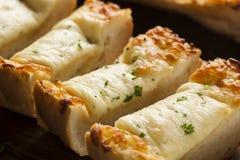 Pan tostado del queso y de ajo fotografía de archivo