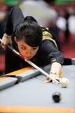 PAN Xiaoting billiard player of China Royalty Free Stock Image
