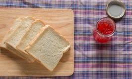 Pan y atasco Foto de archivo libre de regalías