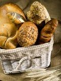 Pan y bollos Imagen de archivo libre de regalías