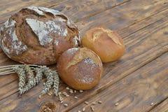 Pan y bollos Imagen de archivo