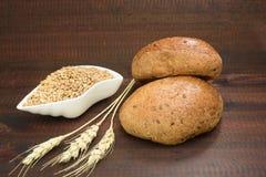 Pan y cereales Foto de archivo