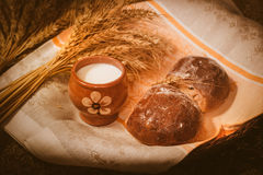 Pan y despido fotos de archivo