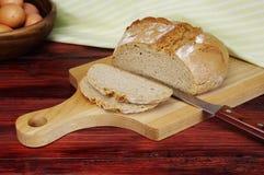 Pan y huevos de Rye. Imágenes de archivo libres de regalías