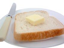 Pan y mantequilla Imágenes de archivo libres de regalías