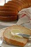 Pan y mantequilla Fotografía de archivo libre de regalías