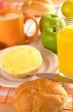 Pan y mantequilla y miel   fotos de archivo libres de regalías