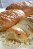 Pan y miga fotos de archivo