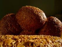Pan y pasteles foto de archivo libre de regalías