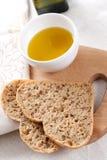 Pan y petróleo Imagenes de archivo
