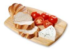 Pan y queso Imagen de archivo