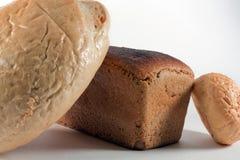 Pan y rodillos largos Imagen de archivo libre de regalías