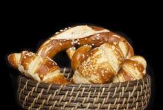 Pan y rollos clasificados Fotos de archivo libres de regalías