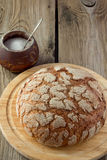 Pan y sal del cortijo Fotos de archivo