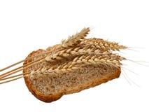Pan y trigo Foto de archivo libre de regalías