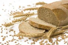 Pan y trigo Imágenes de archivo libres de regalías