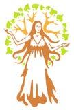 Panacea - ancient Greek goddess. Stock Photography