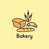 panadería stock de ilustración