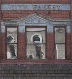Panadería de la ciudad Imagen de archivo