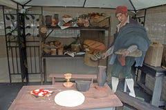 Panadería de la madera contrachapada Imagenes de archivo