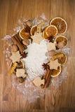 Panadería de la Navidad Imagen de archivo