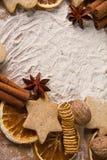 Panadería de la Navidad Foto de archivo