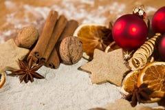 Panadería de la Navidad Foto de archivo libre de regalías