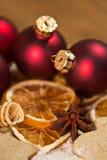 Panadería de la Navidad Fotos de archivo
