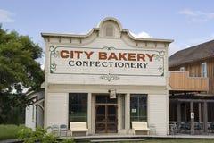 Panadería de la vendimia Fotos de archivo libres de regalías