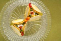Panadería de los dulces de los bocados de la comida fesstival Fotografía de archivo