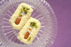 Panadería de los dulces de los bocados de la comida fesstival Fotos de archivo libres de regalías