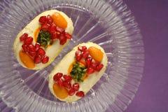 Panadería de los dulces de los bocados de la comida fesstival Imagen de archivo